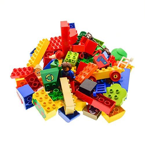 1 Kg Lego Duplo Steine Basicsteine Sondersteine zufällig bunt gemischt