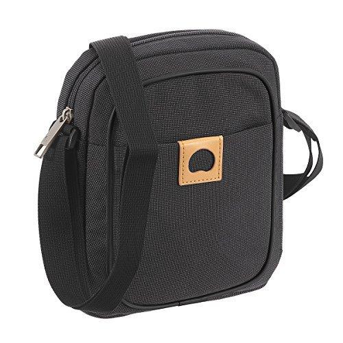 Delsey Montholon Shoulder Bag 18 cm anthrazit by Delsey