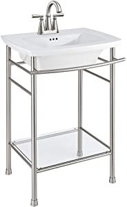 """American Standard 0445004.020 Edgemere 4"""" Centers Sink Top, 4"""", White"""