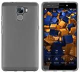 mumbi Hülle kompatibel mit Honor 7/7 Premium Handy Hülle Handyhülle, transparent schwarz