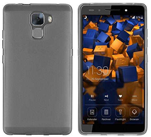 mumbi skal kompatibel med Honor 7/7 Premium mobiltelefon fodral mobilskal, Huawei Honor 7, transp. schwarz