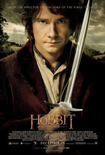 HOBBIT AN UNEXPECTED JOURNEY (2012) Authentic Original Movie Poster - Double-Sided - 27x40 - Rolled - Ian McKellen - Martin Freeman - Richard Armitage - Andy Serkis