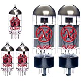 Replacement Valve Kit for VHT D-Fifty D-Style Tube Head 50w (3 x ECC83 2 x Matched 6L6GC)