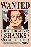 Shanks Wanted OnePiece : Notebook Anime: Great for Journal - Notebooks With Beautiful cover