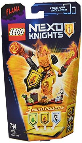 Lego Nexo Knights 70339 - Ultimate Flama, 7-14 Anni