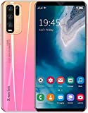 Teléfono móvil 4G, teléfono inteligente Y50 Pro desbloqueado, teléfono celular con pantalla de gota de agua HD + de 5.8 pulgadas, 4GB RAM + 64GB ROM, Dual Sim, teléfonos Android 10.0 gratis, reconocim