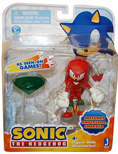 Sonic: 3-Inch Action Figures with Accessories - Knuckles with Emerald