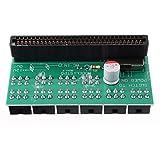 Módulo electrónico Tablero de conversión de alimentación del servidor 10X 6PIN a 6pin Adapter 12V Tarjeta de conversión de tarjetas gráficas Equipo electrónico de alta precisión
