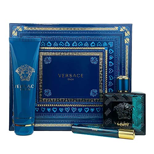 Versace Eros - EdT 100 ml + sh/gel 150 ml + EdT 10 ml SET