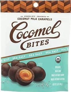 Cocomels Coconut Milk Caramels Seasalt Bites 3.5 OZ (Pack of 3)