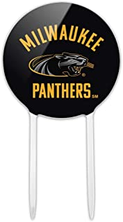 University of Wisconsin Milwaukee Official Panthers Acrylic Cake Topper Party Decoration for Wedding Anniversary Birthday ...