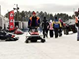 Vintage Snow Mobile Racing
