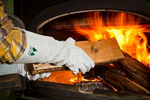 Fir Tree Leather Gardening Gloves