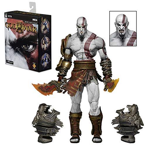 GD-Clothes God of War Model for Kids-Kratos Action Figures-Kratos Toys PVC Plastic Dolls Premium Collector Statue