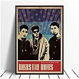 yhyxll Beastie Boys Musik Sänger Poster Hip Hop Rap Musik