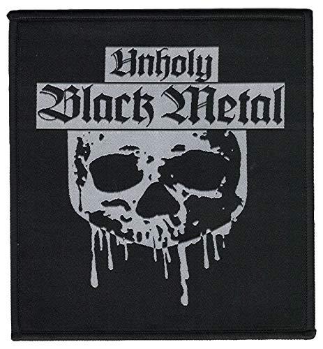 Unholy Black Metal - Parche de calavera