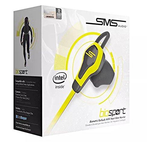 Audio BioSport Sweat Resistant Earbuds Monitor