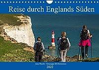 Reise durch Englands Sueden (Wandkalender 2022 DIN A4 quer): Bezauberndes Suedengland (Monatskalender, 14 Seiten )