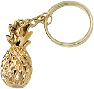 Fashioncraft gold pineapple themed key chain
