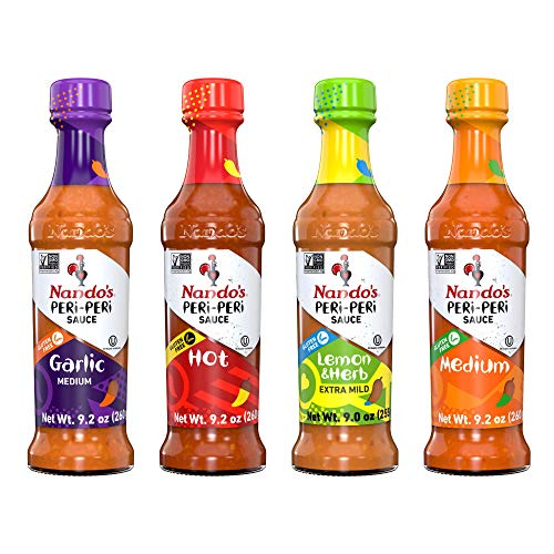 Nando's Sauce Medium Hot Garlic Lemon Herb 9.1oz 4