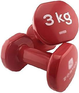 Mancuerna Dumbbell 2pcs Mini Pesas for hombres y mujeres de plástico recubierto de Hogares de ejercicio físico brazo delgado aparatos de ejercicios con mancuernas Mancuernas Dumbbells Fitness y ejerci