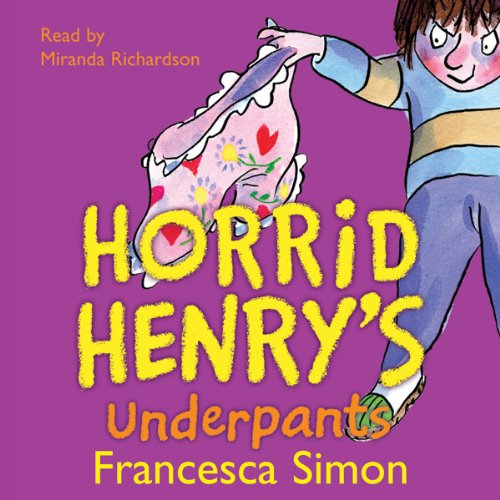 Horrid Henry's Underpants audiobook cover art