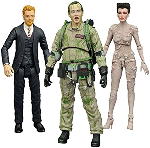 Diamond Select Ghostbusters Series 4 mplettset 3 guren, 699788822845