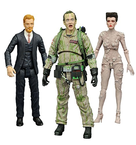 DIAMOND SELECT TOYS Ghostbusters: Gozer, Venkman and Walter Peck Action Figures Series 4 Assortment