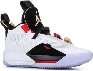 Jordan Men's Air XXXIII Basketball Shoes (10.5, Blue/Red)