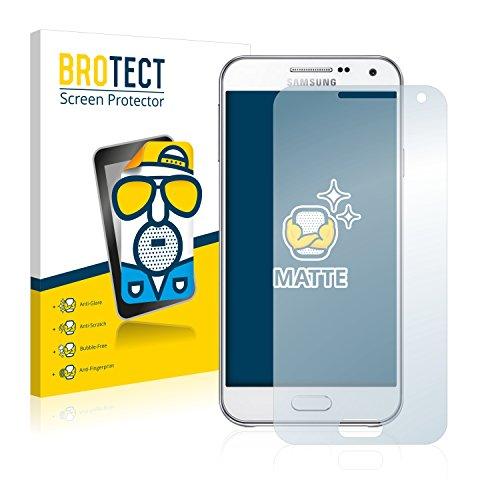 BROTECT 2X Entspiegelungs-Schutzfolie kompatibel mit Samsung Galaxy E5 Bildschirmschutz-Folie Matt, Anti-Reflex, Anti-Fingerprint