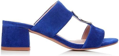 Moda in Pelle Mevia Wildleder, Blau