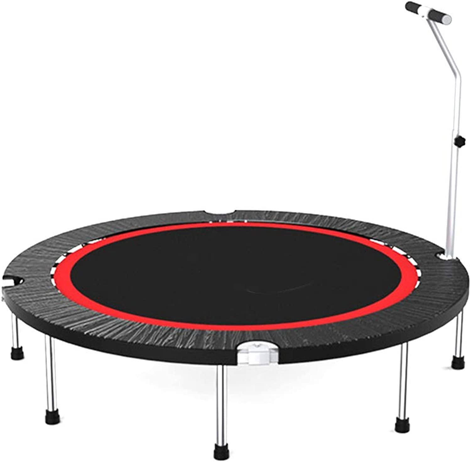 Household Trampoline with Handrail  Mini Kids Trampolines for Indoor Garden Workout Cardio, Support 18 inch 50 inch (Size   48 inch)