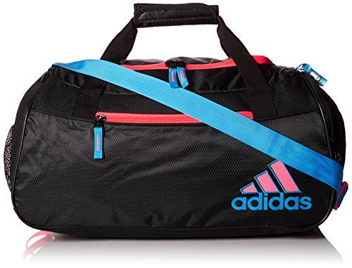adidas Women's Squad Duffel Bag, Collegiate Navy/Onix Jersey/Hi - Res Green/Bahia Mag, ONE SIZE