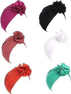 Baby Cotton Gilrs Elastic Knot Headbands Nursery Beanie Kids Cap