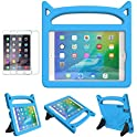 MOXOTEK Kids Case for iPad Mini 1 2 3 4 5 (Blue)