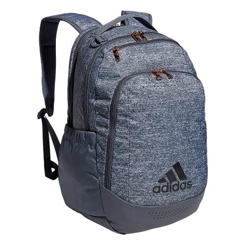 adidas Mochila deportiva unisex Defender Team, Unisex, 979425, Jersey Onix Grey/Onix Grey/Rose Gold, Talla única