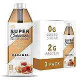 Kitu Super Coffee Keto Coffee Creamer   0g Added Sugar, 2g Protein, 40 Calories [Caramel] 25.4 Fl Oz, 3 Pack