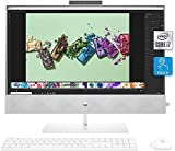 HP Pavilion 27 All-in-One Desktop PC, 27 Inch FHD IPS Touchscreen, Intel i7-10700T, 32GB RAM, 1TB SSD + 1TB HDD, GeForce MX350 4G, Webcam, Wireless Keyboard and Mouse, Win 10 Home