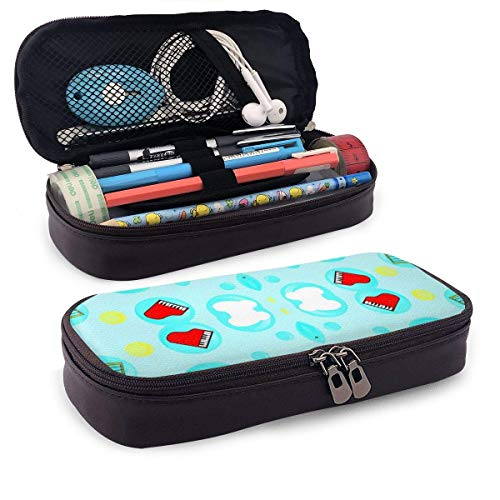Lawenp Multifunktionspaket Bubble_Dream Leather 3D Nanotechnology Printed Pencil Case Pouch Zippered Pen Box School Supply for Students,Big Capacity Stationery Box for Girls Boys and Adults