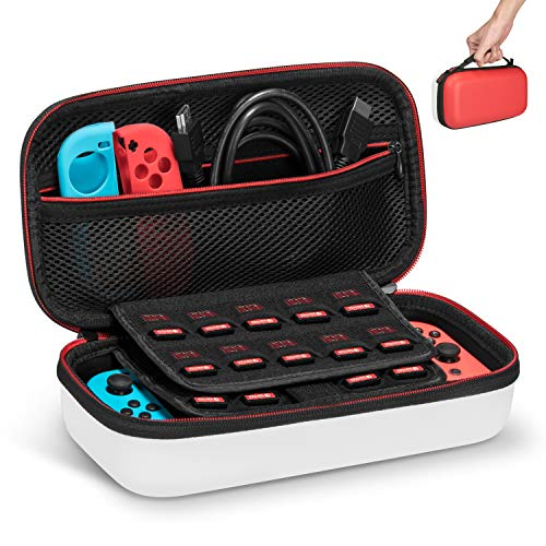 Keten Etui pour Nintendo Switch Housse de Transport Rigide...