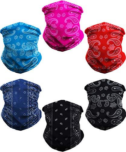 WONBURY Headband Bandana 12-in-1 Headwear Neck Gaiter Headwrap Balaclava Facemask Helmet Liner - Versatile Sports Casual Multifunctional Seamless for Camping Running Cycling Fishing & Sport