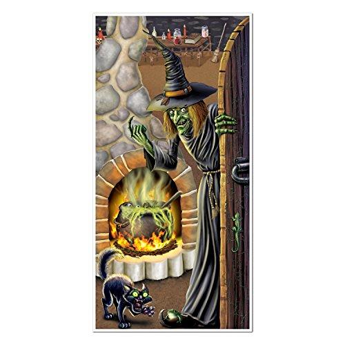 Beistle Witch's Brew Door Cover, Package of 1
