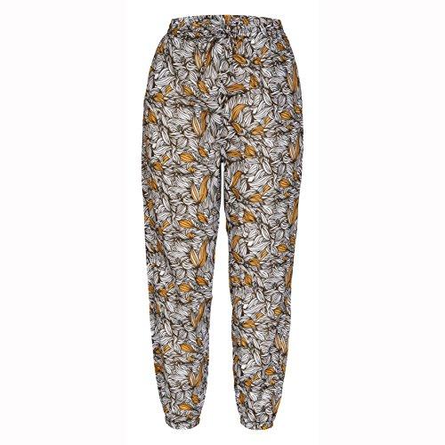 LUHTA Pantalon pour Femme Tilda 44 Marron - schokoladenbraun