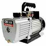 CPS Products VP6D Pro-Set Two Stage Vacuum Pump, 6 cfm, 10 Micron