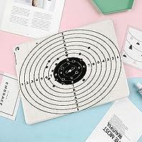 印刷者IPad mini5ケース き 対応 IPad mini5(2019春発売新型)二つ折スタンドカバー キズ防止 軽量 薄型 オートスリープ機能 ターゲット番号と弾痕撮影ポリゴンガントレーニングイラスト