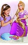 Jakks Pacific- Princesas Disney, muñeca Rapunzel tamaño Especial (80 cm), Multicolor (61773)...