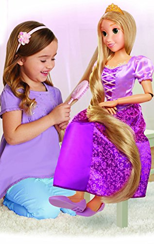 Disney Princess 61773-1-SOC Jakks Pacific 61773 Rapunzel, 80 cm, Lila