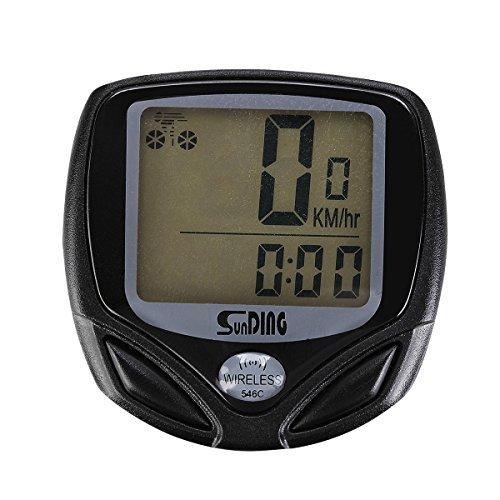 ThorFire LCD ordenador de bicicleta odOmetro velocImetro pod