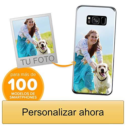 Funda Personalizada para Samsung Galaxy S8 con tu Foto, Imagen o Escritura - Estuche Suave de Gel TPU Transparente - Impresión