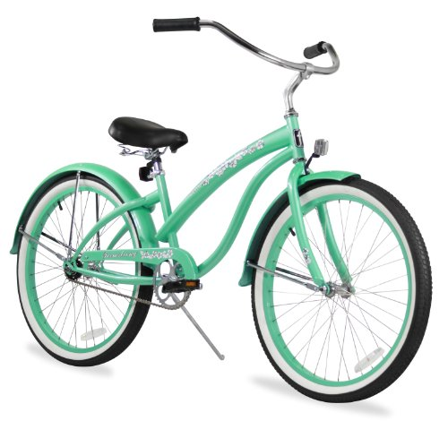 Firmstrong Bella Classic Single Speed Beach Cruiser Bicycle,...